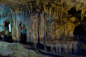 満奇洞 ナイヤガラの滝